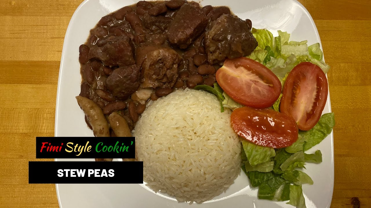 jamaican style stew peas // fimi style recipes // cook