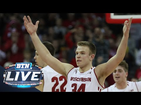 Wisconsin Badgers - Brad Davison, Wisconsin set to battle Maryland Friday night