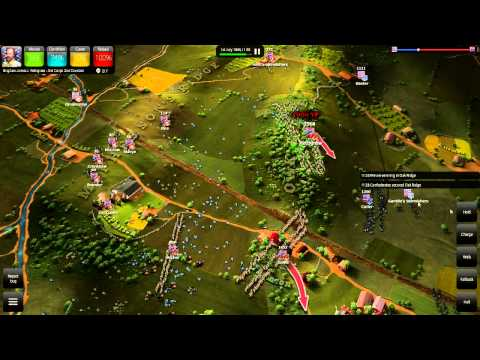 Ultimate General: Gettysburg - Morning July 1st - Concept of the Corps - LP (1/6)