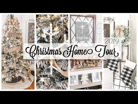Farmhouse Christmas Home Tour *2019*