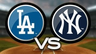 6/19/13: Yankees defeat Dodgers to open doubleheader
