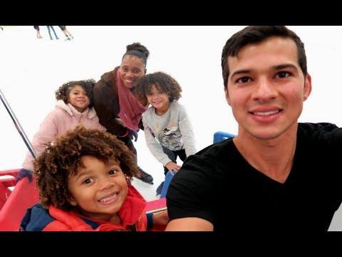 Fun Time Ice Skating | Family Vlog