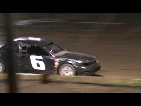 Cayden Vance #6 Feature at humboldt speedway in sport compact race