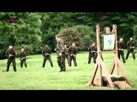 British Army Bayonet Training