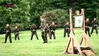 British Army Bayonet Training