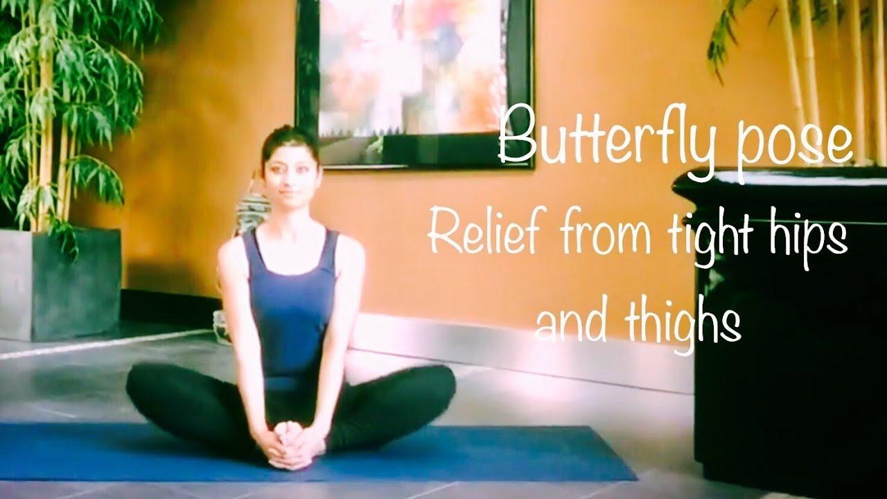 Butterfly Pose Ke Fayde