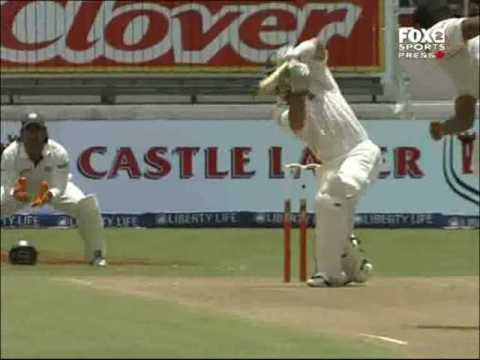 Classic India test match- 2006/07 2nd test South Africa vs I