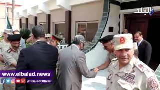 مدير أمن البحيرة يزور الفرقة العاشرة العسكرية ..فيديو وصور