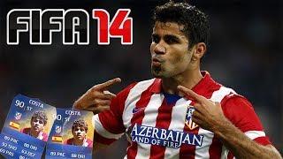 MECZ O TOTSA DIEGO COSTA! - FIFA 14 - Najśmieszniejszy mecz EVER!