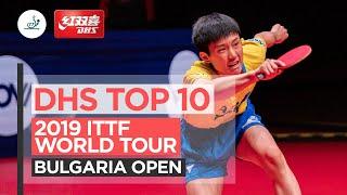 10 лучших розыгрышей | Bulgaria Open 2019