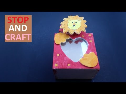 Decorating a Wooden Box