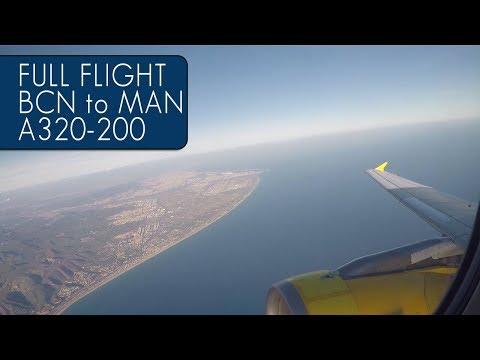 Vueling Full Flight | Barcelona To Manchester