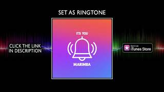 "Check out the marimba ringtone of pop hit ""it's you - ali gatie' click link https://itunes.apple.com/us/album/its-you-marimba-remix-of-ali-gatie-co..."