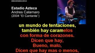 Andres Calamaro -  Estadio Azteca - Karaoke