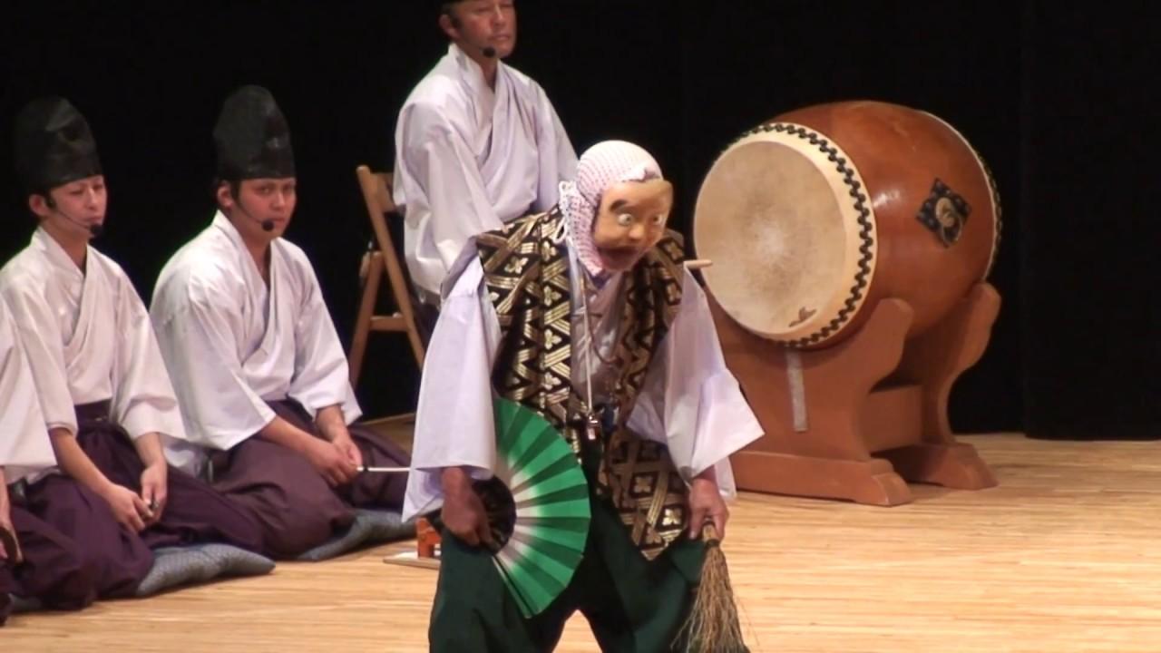 第26回神楽祭 高猿神楽団 笑える「悪狐伝」フルバージョン