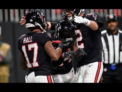 half off 342c8 92b48 Atlanta Falcons Highlights Vs. Giants 2018   NFL Week 7 Highlights   #RiseUp