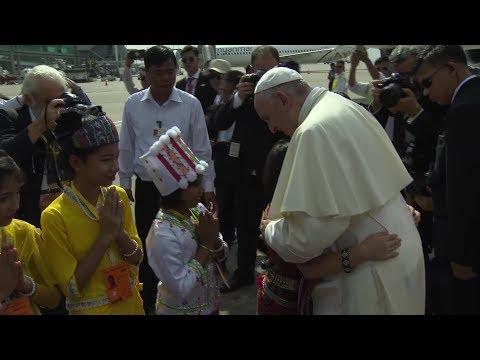 Las mejores imágenes del viaje del Papa a Myanmar y Bangladés