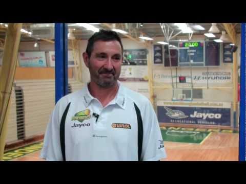 2013 Dandenong Basketball TV  Mark Wright  Part 1
