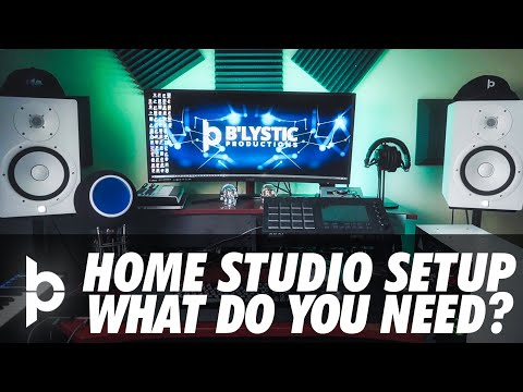 HOME STUDIO RECOMMENDATIONS | My Music Production Set Up And Gear | Home Music Equipment