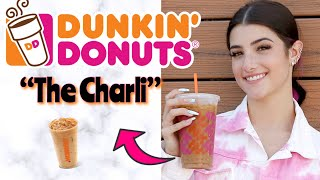 CHARLI DRINK REVIEW!  TRYING THE CHARLI DRINK FROM DUNKIN
