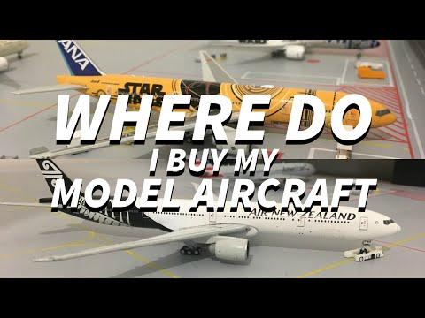 WHERE DO I BUY MY MODEL AIRCRAFT?