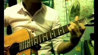 """█▬█ █ ▀█▀ Hướng dẫn guitar """"Cánh Buồm phiêu du"""" - Phần 1: Hợp âm"""
