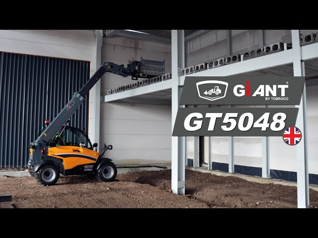 Discover the new GIANT GT5048 telehandler