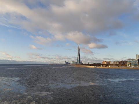 Влог-прогулка около Лахта-центра | Санкт-Петербург