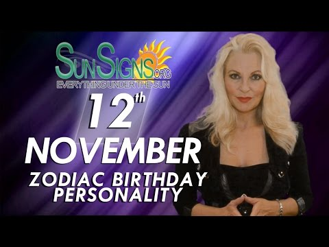 Facts & Trivia - Zodiac Sign Scorpio November 12th Birthday Horoscope