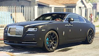 Реальная Жизнь в GTA 5 - РАССТРЕЛЯЛИ В Rolls Royce!!! ОТДАМ ЛЮБЫЕ ДЕНЬГИ!