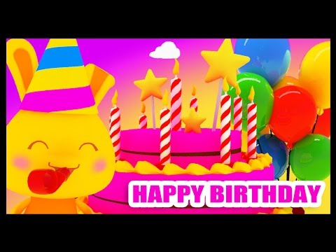 Happy birthday to you -  Birthday party - Traditional - Kids songs