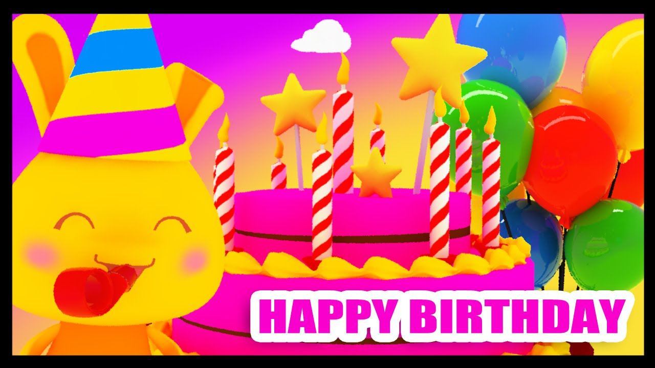 Très Happy birthday to you - Birthday party - Traditional - Kids songs  YR27