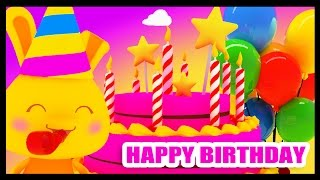 Joyeux anniversaire - La musique pour les enfants - Titounis - Méli et Touni