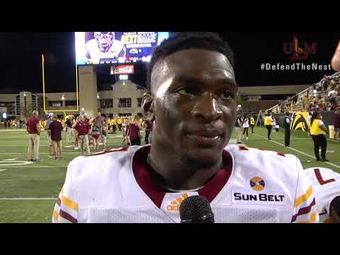 ULM vs Southern Miss Post Game with Marcus Green and Donald Louis Jr