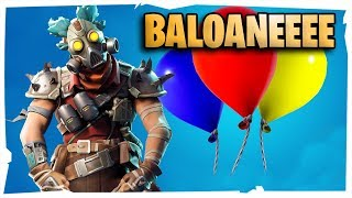 🔴 The new patch, we have balloons. Free balloons. First come, first served. Fortnite Romania. Polenta