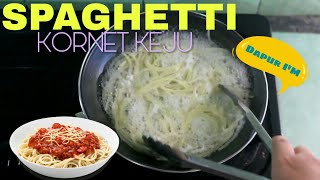 Spaghetti Kornet Keju By Dapur I M Youtube
