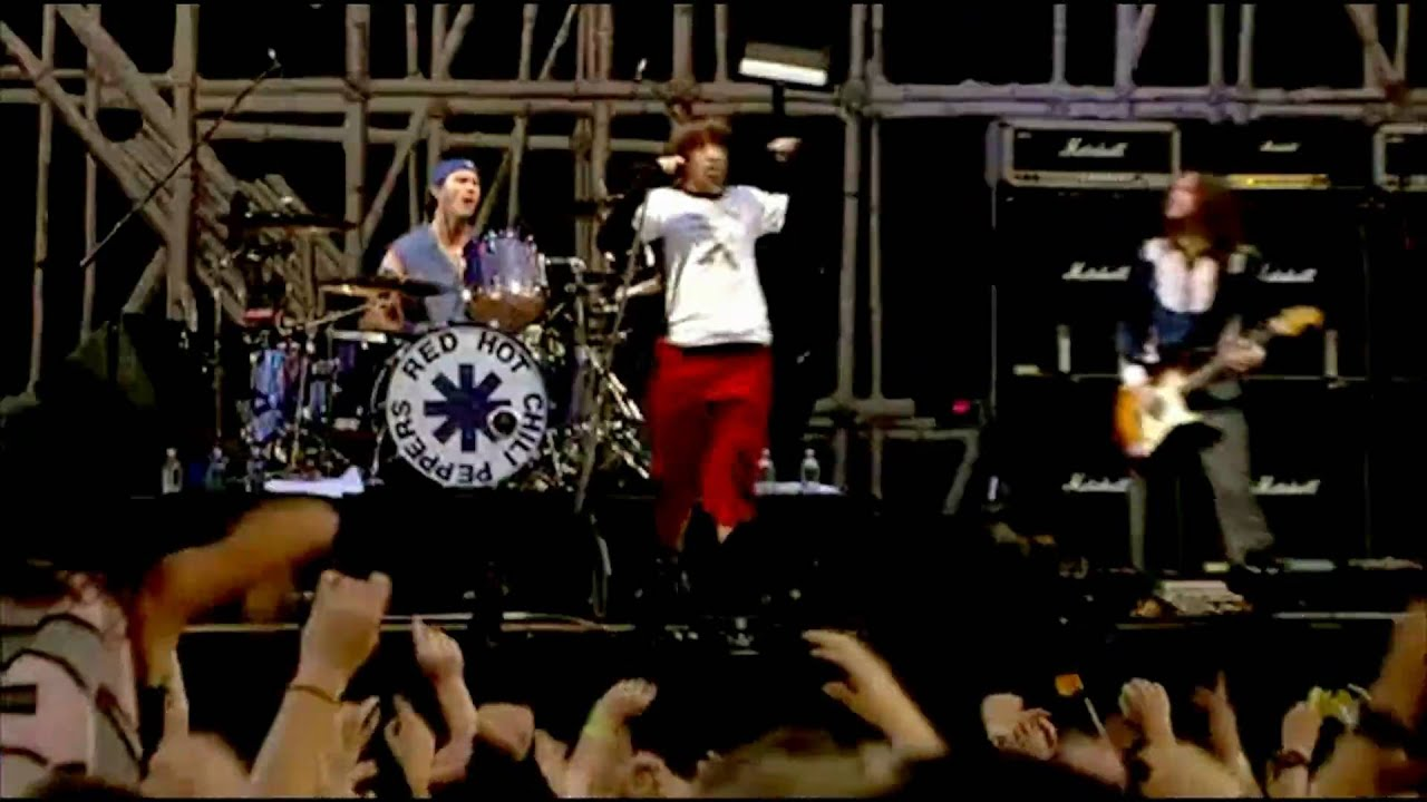 Red Hot Chili Peppers - By the Way & Scar Tissue - Live at