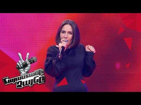 Anushik Harutyunyan Sings 'This World' - Blind Auditions - The Voice Of Armenia - Season 4