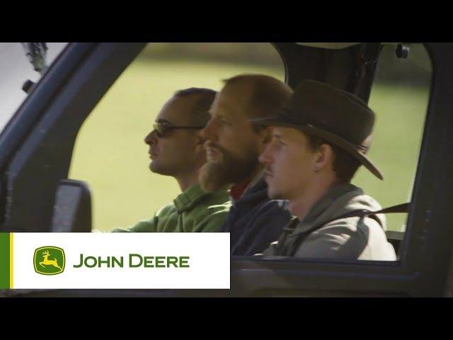 John Deere - Gator - Fuoristrada con tre sedili in fila