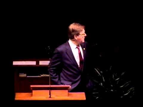 Mims Baptist Church Speech 7.1.12