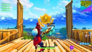 FORTNITE BLOCKBUSTER #5 FREE SECRET BATTLE PASS STAR LOCATION! WEEK 5 FORTNITE BATTLE ROYALE