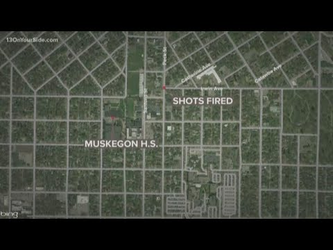 No injuries reported after shots fired near Muskegon High School