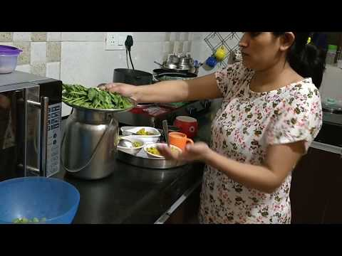 Night time kitchen cleaning Routine/Indian kitchen cleaning
