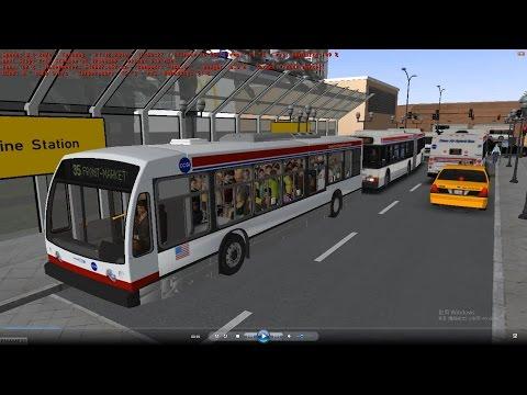 omsi 2 tour (1013) USA Cayuga 35 Springfield Mall - Waterfront Museum @ Chicago Nova Bus LFS