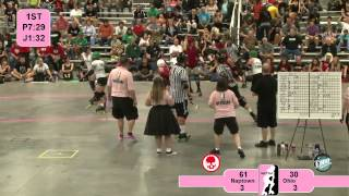 Roller Derby: WFTDA 2012 North Central Region Playoffs - Naptown vs. Ohio