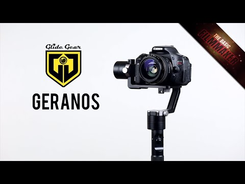 Glide Gear Geranos Review/TIps - 3-Axis 360 Degree FIlmmaking Stabilizer - Basic Filmmaker Ep 197
