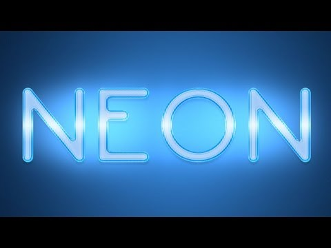 Neon Photoshop Tutorial: Text Effect |:freedownloadl.com  design, photo, style, poster, pc, world, free, set, download, pack, edit, card, photoshop, tool, font, brush