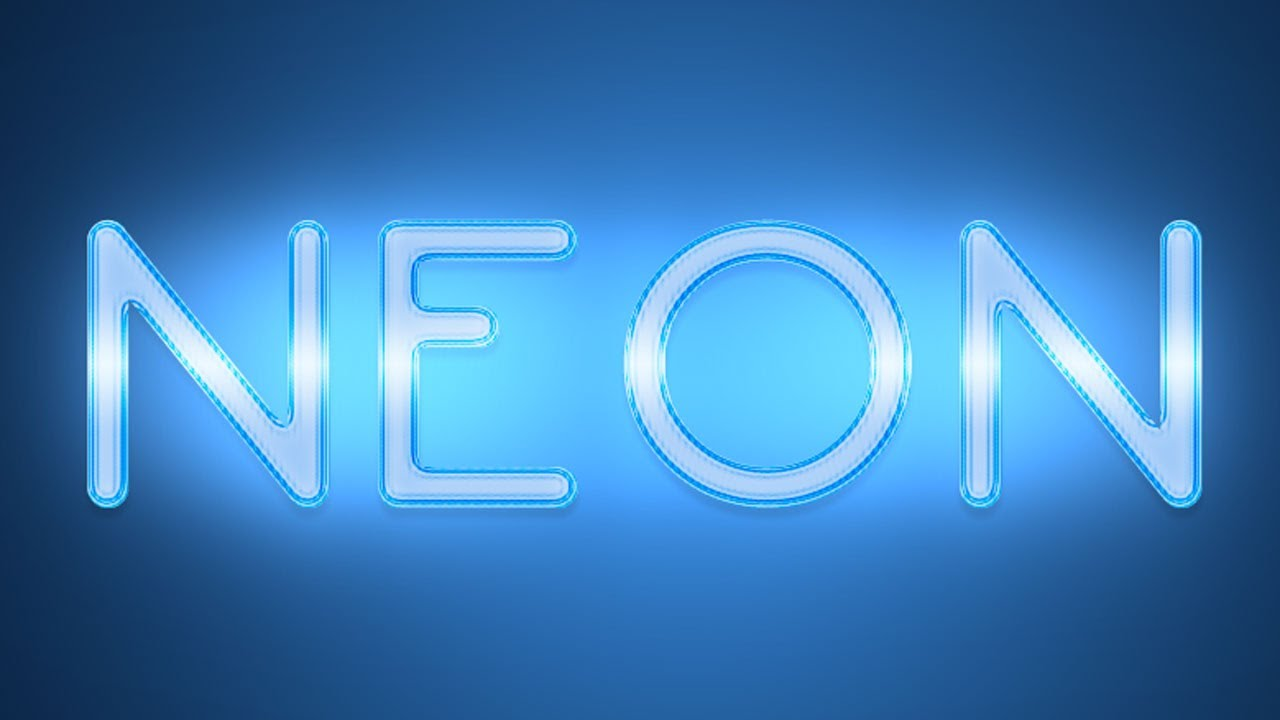 Neon photoshop tutorial text effect youtube neon photoshop tutorial text effect baditri Gallery