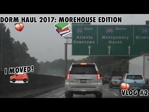 DORM HAUL 2017: MOREHOUSE EDITION || VLOG #2