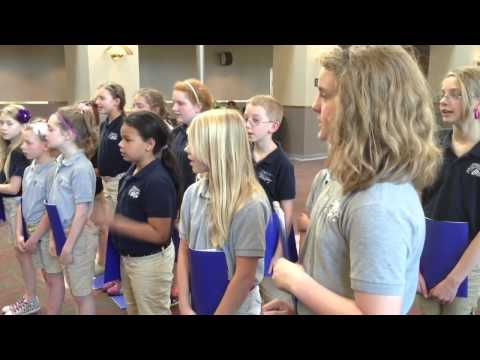 Concordia Academy Sings at The Nebraska Medical Center